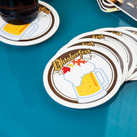 Drink Coasters (Round) Custom Full Color Graphics Glossy
