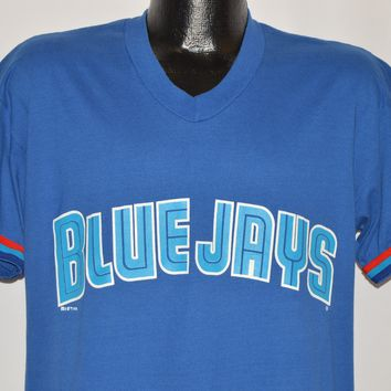90s Toronto Blue Jays V-Neck Jersey t-shirt Medium