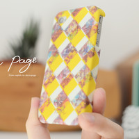 iphone case : abstract scott plaid