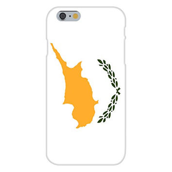 Apple iPhone 6 Custom Case White Plastic Snap On - Cyprus - World Country National Flags