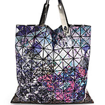 Bao Bao Issey Miyake - Prism Mineral Faux-Leather Tote - Saks Fifth Avenue Mobile