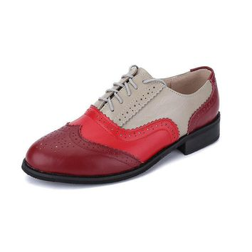Oxfords Genuine Leather Shoes