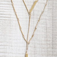 Sahara Layered Necklace - Gold