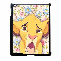 Lion Simba Pride Floral iPad 3 Case