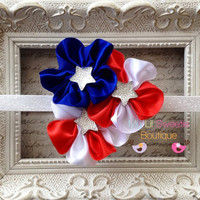 Fourth of July headband Stars and Stripes by MyLilSweetieBoutique