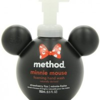 Method Minnie Mouse Foaming Hand Wash 8.5oz, Strawberry Fizz (Pack of 2)