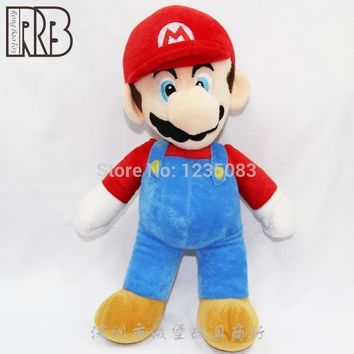Super Mario party nes switch  Bros. Red  Plush Doll Stuffed Doll Moive TV Game Anime plush toy 9 inch AT_80_8