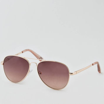 AEO Aviator Sunglasses, Gold