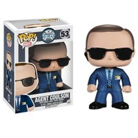 "Funko POP! ""Agents of S.H.I.E.L.D."" Agent Coulson Vinyl Bobble-Head"