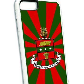 Alpha Chi Omega iPhone Case White