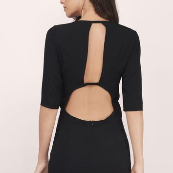 Back It Up Mini Dress