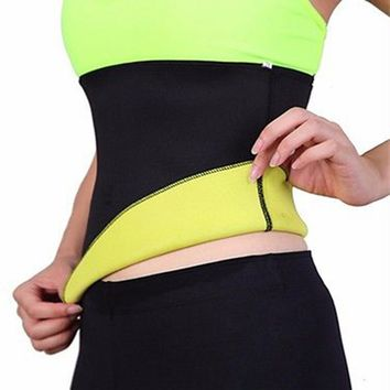 Hot Neoprene Body Shaper Women Waist Cinchers Fitness Waist Trainer Lose Weight Control Slip Shapewear Slimming Belt Shapers F2