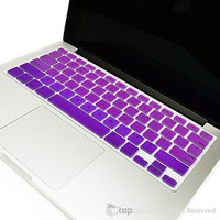 """TopCase Candy White Silicone Keyboard Cover Skin for Macbook 13"""" Unibody / Macbook Pro 13"""" 15"""" 17"""" with or without Retina Display / New Macbook Air 13"""" / Wireless Keyboard + Topcase Mouse Pad"""