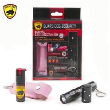 Lipstick Stun Gun & Pepper Spray Combo