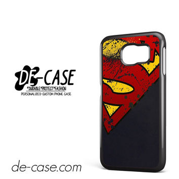 Man Of Steel Aka Superman DEAL-6823 Samsung Phonecase Cover For Samsung Galaxy S6 / S6 Edge / S6 Edge Plus