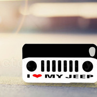 I Love My Jeep - for iPhone 4/4s, iPhone 5/5s/5c, Samsung S3 i9300, Samsung S4 i9500 *factorysweatyes*