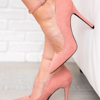 Pump It Up Pumps (Dusty Rose)