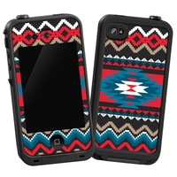 "Folk Tribal ""Protective Decal Skin"" for LifeProof iPhone 4/4s Case"