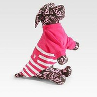 Juicy Couture - Striped Dog Tee - Saks.com