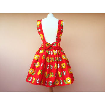 Bambola : Dress with Vintage fabric