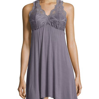 Take Me Away Lace Racerback Chemise, Size: