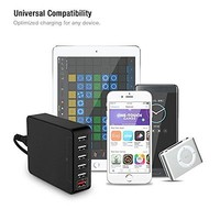 Charging Station Fast Charging Power Dock Station , 6-Port USB Charger & SI Tech