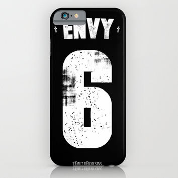 7 Deadly sins - Envy iPhone & iPod Case by HappyMelvin