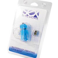 Sex In The Shower Waterproof Vibrating Cock Ring