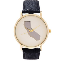 California Analog Watch