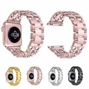 Stainless Steel Wrist Iwatch Band Strap Bracelet For Apple Watch Series 3 2 1