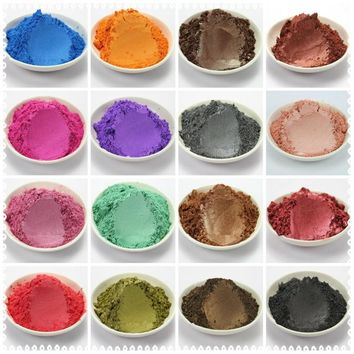 20g Healthy Natural Mineral Mica Powder DIY For Soap Dye Soap Colorant makeup Eyeshadow Soap Powder Free