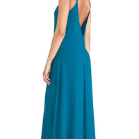 Tysa Bombshell Dress in Teal