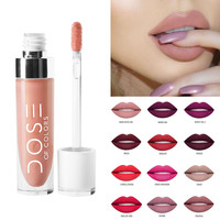 Colorful Make Up Brand Long Lasting Liquid Lipstick DOSE OF COLORS Nude Makeup Matte Liquid Lipstick maquiagem
