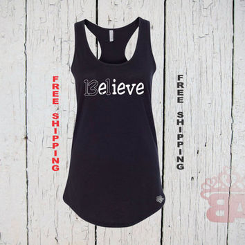 Believe Tank Top. 13.1 miles running. Half Marathon Tank Top. Running Half Marathon. Womens Racer Back Tank Top. FREE Shipping.
