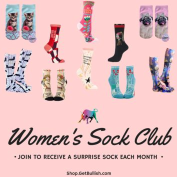 GetBullish Sock of the Month Club Subscription in Women's or Men's