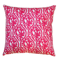 Toss Pillows- Premier Prints Candy Pink Kimono Pillow Cover- Choose Size- Zippered Pillows- Hot Pink Pillow Case Cushion Cover Girls Room