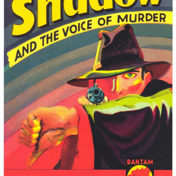 The Shadow 11x17 Retro Book Cover Poster (1932)