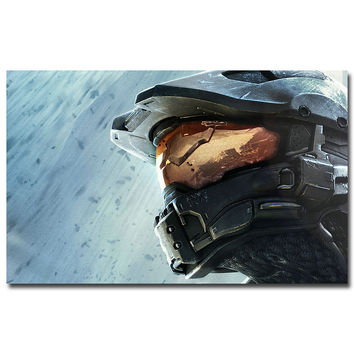 Halo Master Chief  Poster Print 12X18 20X30 24X36inches
