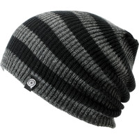 Aperture Estebon Grey & Black Stripe Beanie