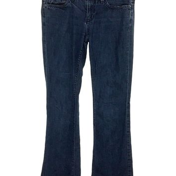 Joes Jeans Rocker Luella Dark Wash Stretch Size 4 Womens 27 Actual 28 x 33.5 - Preowned