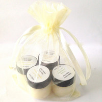 Lip Scrub Gift Set, You Choose Flavors, Vegan, Natural Beauty, Kissable Summer Lips