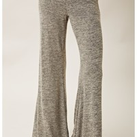 Blue Life Knit Bell Bottom Pants