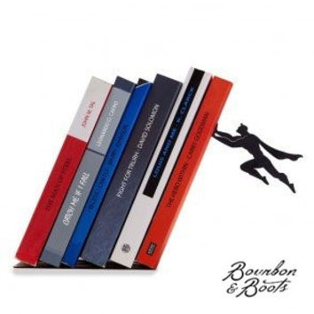 Handcrafted Humorous Artistic Bookends, Shelves, & Holders