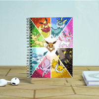 Pokemon All Characters Photo Notebook Auroid