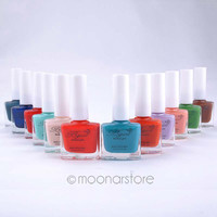Free Shipping NEW Matte Polish Nail Varnish Lacquer Paint Nail Art for Lady Girl 12ML zMPJ484I