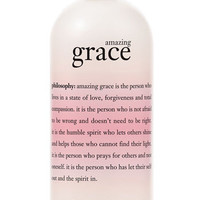 Women's philosophy 'amazing grace' perfumed olive oil body scrub