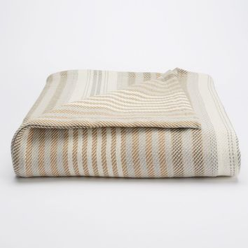 Chaps Home Yarn-Dyed Blanket