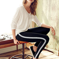 Metallic-stripe Legging - Victoria's Secret