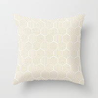 Geometric Shapes Pattern Throw Pillow by Smyrna