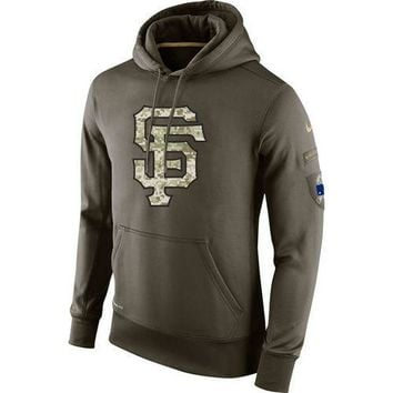 San Francisco Giants Nike MLB Salute To Service Pullover Hoodie